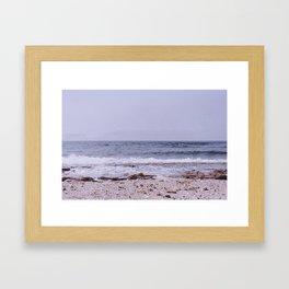 Oceans will rise Framed Art Print
