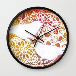 Twin Birds Wall Clock