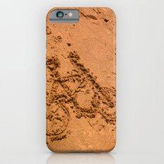 sand bicycle iPhone 6s Slim Case