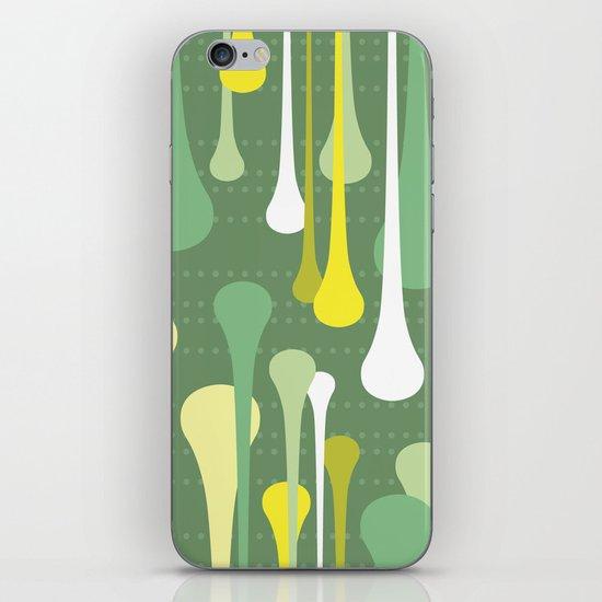 Droplets iPhone & iPod Skin