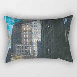 new york! Rectangular Pillow