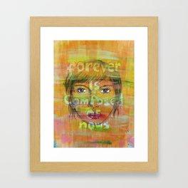 MrS paper towns Framed Art Print
