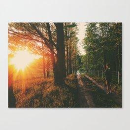 Sunset Road • Appalachian Trail Canvas Print