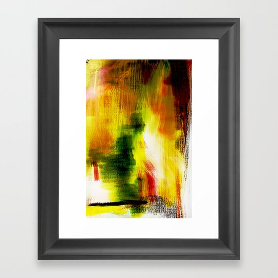Hiding Place Framed Art Print