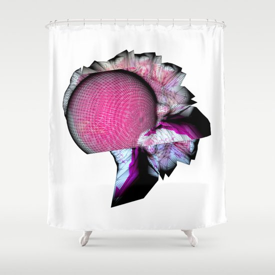 Oracle at Server Delphi Shower Curtain
