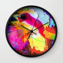 Neon Magic Wall Clock