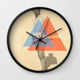 Luke Skywalker Wall Clock