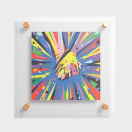 Band Together - Pride Floating Acrylic Print