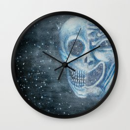 Tragicomedy Wall Clock