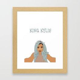 king kylie Framed Art Print