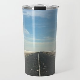 Long way into the salt desert Travel Mug