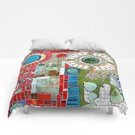 Mosaic Art in Germany Comforters