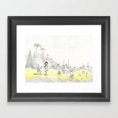 Grains of Fun Framed Art Print