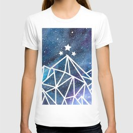 Watercolor galaxy Night Court - ACOTAR inspired T-shirt