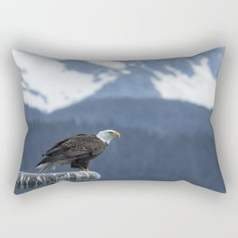 Bald Eagle of Resurrection Bay, No. 1 Rectangular Pillow