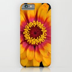 Orange Flower Slim Case iPhone 6s