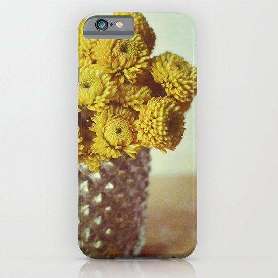 yellow makes me happy iPhone & iPod Case