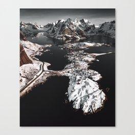 reine at the lofoten Canvas Print