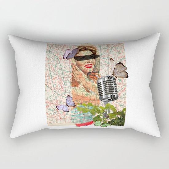 Sing to me Rectangular Pillow