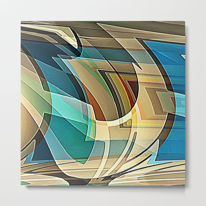 Just Mix With Water Metal Print