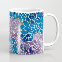 Floral Abstract 34 Coffee Mug