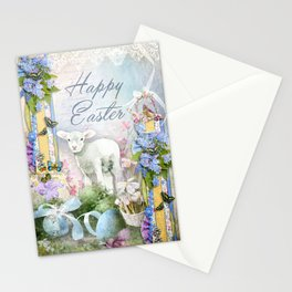Easter Lamb Stationery Cards