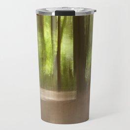 Backwoods Abstract Travel Mug