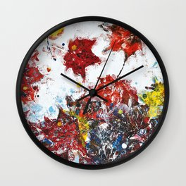 Game Wind Wall Clock