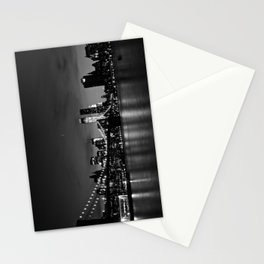 Brooklyn Bridge and the Manhattan Skyline at Dusk Stationery Cards