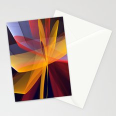 Transparent foldings, modern colourful abstract Stationery Cards