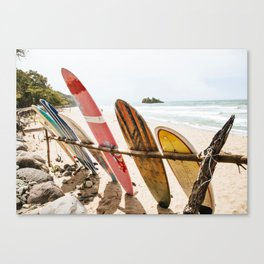 Surfing Day 2 Canvas Print