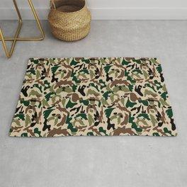 Shih Tzu Camouflage Rug