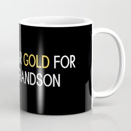 Childhood Cancer: Gold For My Grandson Coffee Mug
