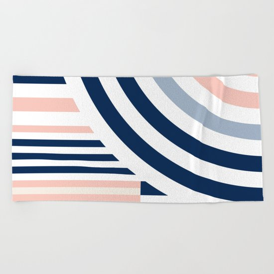 Connecting lines 3. Beach Towel