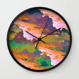 Sugar Storm Wall Clock