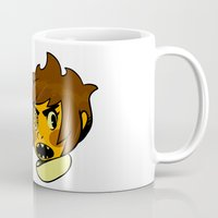 sticker Mugs featuring Chip sticker by marvelousghost