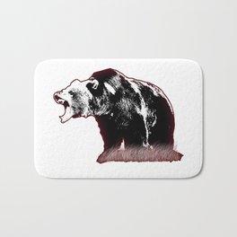 Defensive Bear Bath Mat