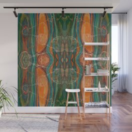 Lively Synapses (Amplified Current) (Reflection) Wall Mural