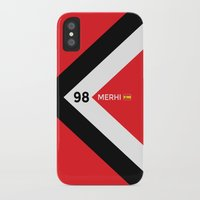 f1 iPhone & iPod Cases featuring F1 2015 - #98 Merhi by MS80 Design