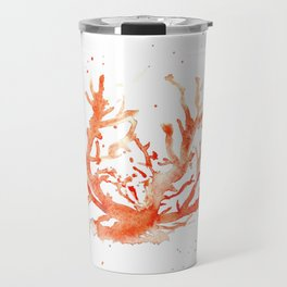 The Coral of Sciacca Travel Mug