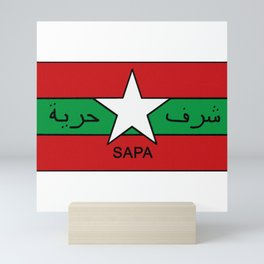 SAPA Badge Mini Art Print