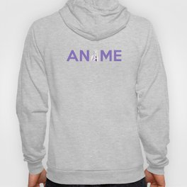 Anime Inspired Shirt Hoody