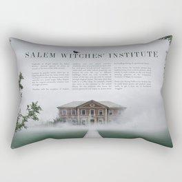 Wizarding Schools Around the World: Salem Rectangular Pillow