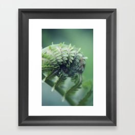 Unfolding Framed Art Print