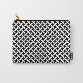 Weave On Pattern Carry-All Pouch