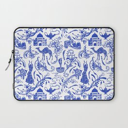 Arabian Nights // China Blue Laptop Sleeve
