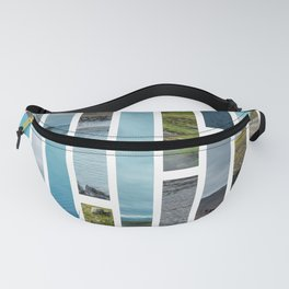 Pieces of Iceland Fanny Pack