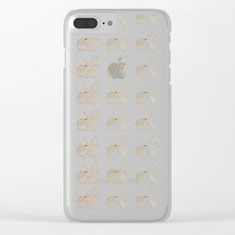 An Octopus Pattern Clear iPhone Case