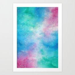 Fae Galaxy Art Print