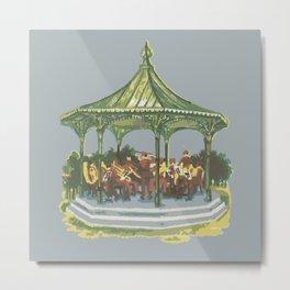 bandstand Metal Print